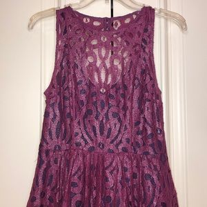 Anthropologie Lace Party Dress